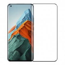 Tempered Glass 9H Για Xiaomi MI 11/11PRO Προστατευτικό Οθόνης Full Glue - Μαύρο