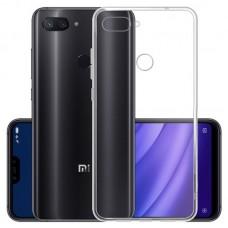 OEM Back Θήκη Σιλικόνης Για Xiaomi MI 8 LITE Προστασία Κινητό - Διάφανο