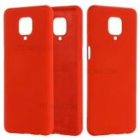 OEM Hard Back Cover Case Σκληρή Σιλικόνη Θήκη Για Xiaomi Note 9Pro/9S- Κόκκινο