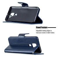 Θήκη Book Style με Βάση Στήριξης για Xiaomi Note 9 Μπλε