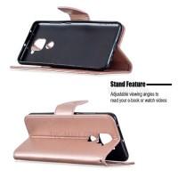 Θήκη Book Style με Βάση Στήριξης για Xiaomi Note 9 ΑΝΟΙΧΤΟ ΡΟΖΕ