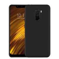 OEM Back Θήκη Σιλικόνης Για Xiaomi F1 Pocophone Προστασία Κινητό -Μαύρο
