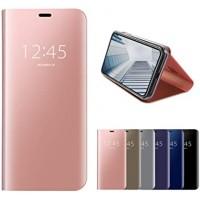 OEM Xiaomi Redmi Note 9S/Note9 Pro CLEAR View Flip Case Rose