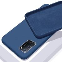 OEM Hard Back Cover Case Σκληρή Σιλικόνη Θήκη Για Xiaomi Mi 10 Lite- Μπλε