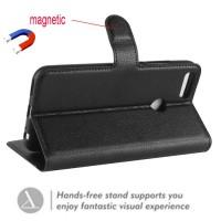 Θήκη Book Style με Βάση Στήριξης για Xiaomi Mi A1 / Mi 5X - Μαύρο