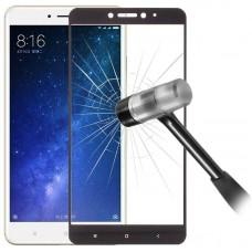 Tempered Glass (Τζάμι) Προστασία Οθόνης για Xiaomi Mi Max 2 Μαύρο