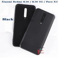 OEM Hard Back Cover Case Σκληρή Σιλικόνη Θήκη Για Xiaomi Poco F2/K30- Μαύρο