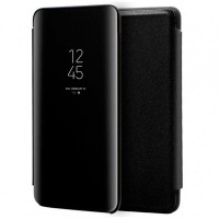 OEM Xiaomi Redmi Note 9S/Note9 Pro CLEAR View Flip Case Black
