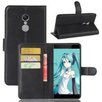 OEM Βιβλίο Θήκη Για Xiaomi Redmi Note 4/4X δερμάτινο μαζί με Stand - Μαύρο
