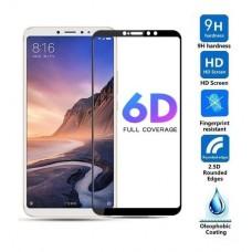 Tempered Glass 9H Για Xiaomi Mi MAX 3 Προστατευτικό Οθόνης Full Glue  - Μαύρο