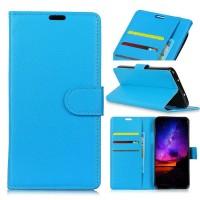 Θήκη Book Style με Βάση Στήριξης για Xiaomi f1 Pocophone- Μπλε