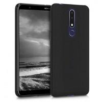 Θήκη Silicon Comfort για Nokia 3.1 Plus Μαύρο
