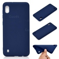 OEM Hard Back Cover Case Σκληρή Σιλικόνη Θήκη Για Samsung Galaxy A10 Blue