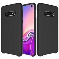 Senso Soft Touch Samsung S10E/S10LITE Black Backcover