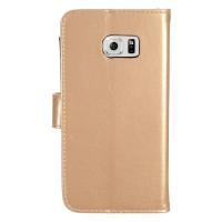 Θήκη Book Style με Βάση Στήριξης για Samsung (Galaxy S7) - (ΧΡΥΣΟ)