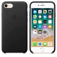 Θήκη Γνήσια Apple Δερμάτινη για iPhone 7/ 8 - ΜΑΥΡΟ