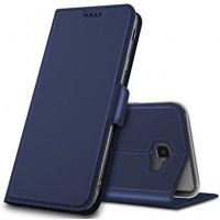 Θήκη Book Style με Βάση Στήριξης για Samsung (Galaxy j4 Plus) - (ΜΠΛΕ)