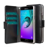 Θήκη Book Style με Βάση Στήριξης για Samsung (Galaxy A5 2016) - (Μαύρο)