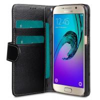 Θήκη Book Style με Βάση Στήριξης για Samsung (Galaxy S7) - Μαύρο