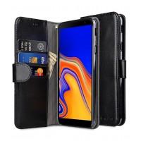 Θήκη Book Style με Βάση Στήριξης για Samsung (Galaxy j4 Plus) - (Μαύρο)