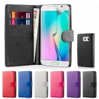 Θήκη Book Style με Βάση Στήριξης για Samsung (Galaxy S6) - Μαύρο