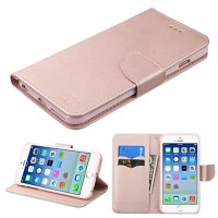 Apple iPhone 7 Plus/8 Plus ΘΗΚΗ BOOK STYLE SMART ΜΑΓΝΗΤΙΚΗ ΑΝΟΙΧΤΟ ΡΟΖΕ