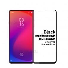 Tempered Glass 9H Για Xiaomi Mi 9T/Mi 9T Pro/ Redmi K20/K20 Pro Προστατευτικό Οθόνης Full Glue - Μαύρο