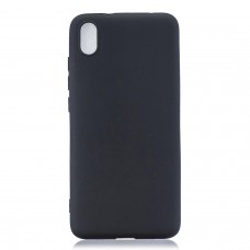Inos Back Cover Case Silky and Soft Matte Xiaomi Redmi 7A Black