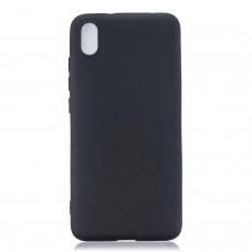Inos Back Cover Case Silky and Soft Matte Xiaomi Redmi 7A Black