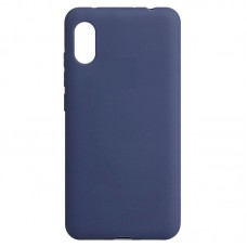 Inos Back Cover Case Silky and Soft Matte Xiaomi Redmi 7A Blue