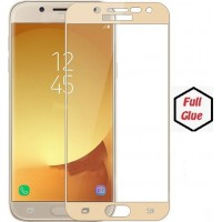 Tempered Glass Για Samsung J5 2017 Full Glue Προστατευτικό Οθόνης -ΧΡΥΣΟ