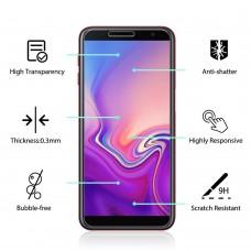 Tempered Glass Για Samsung  J4 Plus/ J6 Plus Glue Προστατευτικό Οθόνης - διαφανής
