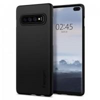 Θήκη Silicon Comfort για Samsung S10 Plus - Μαύρο