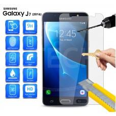 Tempered Glass Για Samsung  J7 2016 Glue Προστατευτικό Οθόνης - διαφανής
