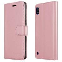 Θήκη Book Style με Βάση Στήριξης για Samsung (Galaxy A10) -(ΑΝΟΙΧΤΟ ΡΟΖΕ)