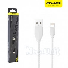 Καλώδιο Awei Fast Data CL-981 για iphone/ipad/ipod 1m - Μαύρο
