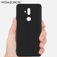 Senso Soft Touch Backcover Huawei Mate 20 Lite Black