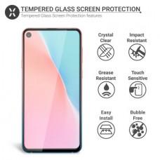Tempered Glass Για Samsung A 60 Full Glue Προστατευτικό Οθόνης - Μαύρο