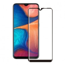 Tempered Glass Για Samsung A 20e Full Glue Προστατευτικό Οθόνης - Μαύρο