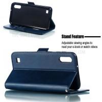 Θήκη Book Style με Βάση Στήριξης για Samsung (Galaxy A10) - (ΜΠΛΕ)