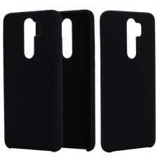 Inos Back Cover Case Silky and Soft Matte Xiaomi Redmi Note 8 Pro Black