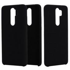 Inos Back Cover Case Silky and Soft Matte Xiaomi Redmi Note 8 Pro Black