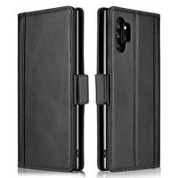 Θήκη Book Style με Βάση Στήριξης για Samsung (Note 10 Plus/ Note 10 Pro ) - Μαύρο