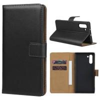 Θήκη Book Style με Βάση Στήριξης για Samsung (Note 10) - Μαύρο