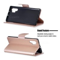 Θήκη Book Style με Βάση Στήριξης για Samsung (Note 10 Plus/ Note 10 Pro ) - ΑΝΟΙΧΤΟ ΡΟΖΕ