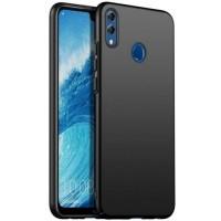 OEM Back Θήκη Σιλικόνης Για Huawei Honor 8 X Προστασία Κινητό - Μαύρο