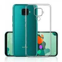 OEM Back Θήκη Σιλικόνης Για Huawei Mate 30 Lite/Nova 5 Pro Προστασία Κινητό - Διάφανο