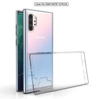 OEM Back Θήκη Σιλικόνης Για Samsung Note 10 Plus/ Note 10 Pro Προστασία Κινητό - Διάφανο