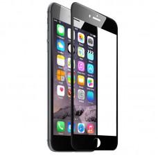 Tempered Glass Για iPhone 7 Plus/8 Plus Full Cover Glue Matte Προστατευτικό Οθόνης  - Mαύρο