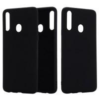 OEM Hard Back Cover Case Σκληρή Σιλικόνη Θήκη Για Samsung Galaxy A20S Μαύρο